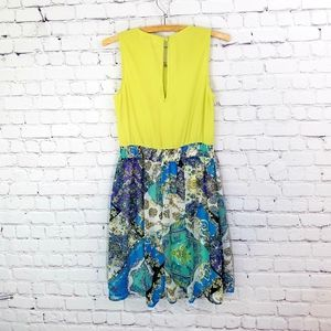 Umgee Dresses - Umgee Bright Funky Patterned Tank Dress S